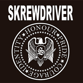 T-SHIRT (BLACK SKREWDRIVER/BAND)