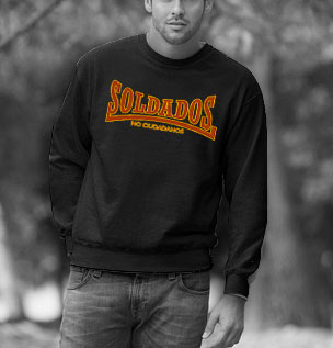 SWEAT-SHIRTS (BLACK/SOLDADOS NO CIUDADANOS)