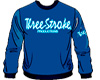 SWEATSHIRTS Three-Stroke NAVY (WHITE/ICE)