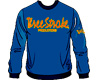 SWEATSHIRTS Three-Stroke NAVY (BURGUNDY/YELLOW)