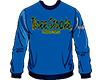 SWEATSHIRTS Three-Stroke NAVY (BLACK / YELLOW)