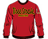 SWEATSHIRTS Three-Stroke BURGUNDY (BLACK/YELLOW)