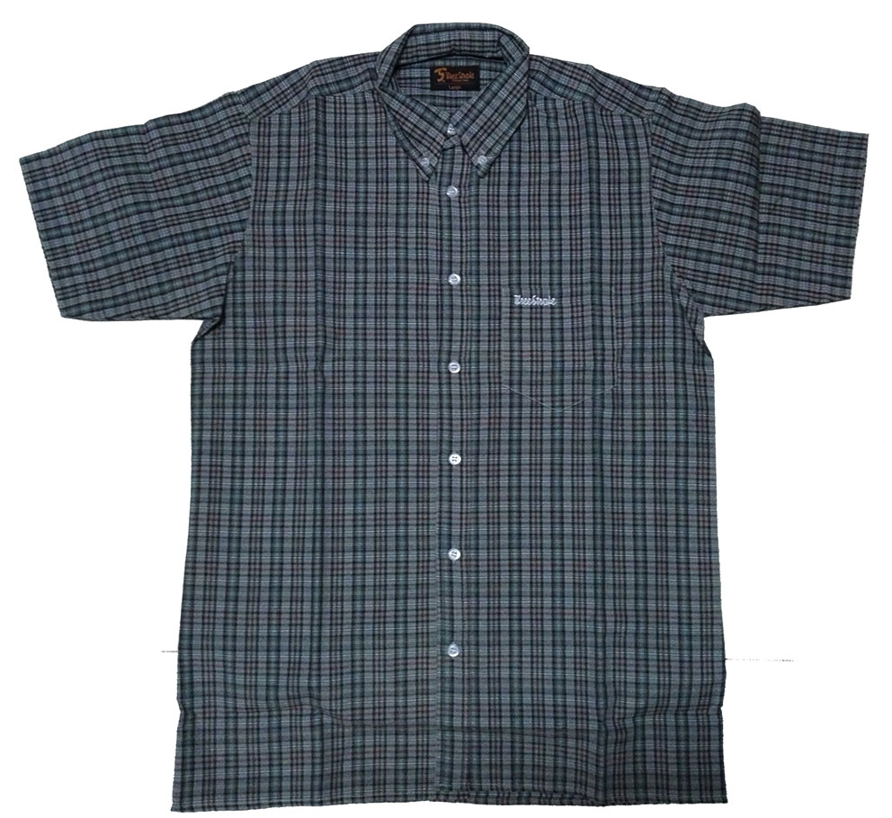 CAMISA THREE-STROKE ESCOCESA VERDE