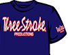T-SHIRT Three-Stroke NAVY (WHITE/RED)