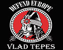 CAMISETA NEGRA VLAD TEPES (DEFEND EUROPE)