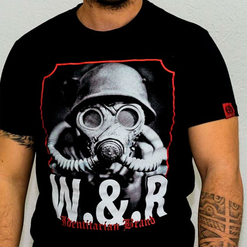 T-SHIRT WHITE and REBEL MASK