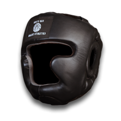 HEAD GUARD WHITE REX (BLACK)
